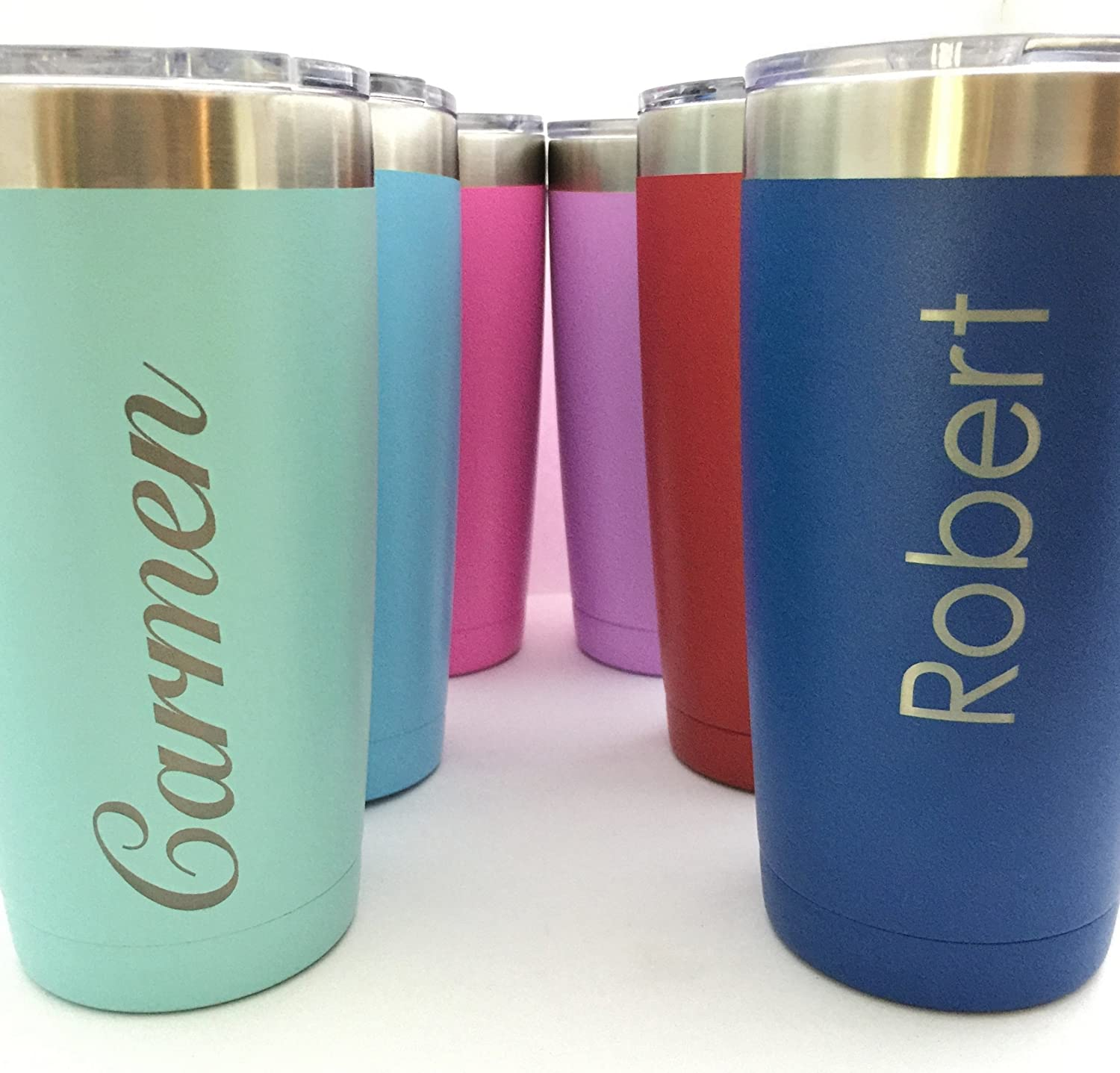 Personalized Insulated Tumbler 20oz Choose Your Color
