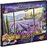 Schipper - 609260604 - Lavender Fields - Triptychon - Tableau à Dessin - Taille 40 x 50 cm