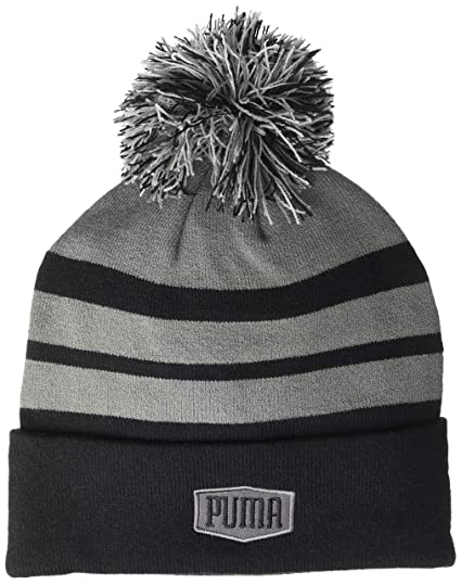 Amazon.com  Puma Golf 2018 Men s Pwrwarm Pom Beanie (Puma Black 2557e646b41