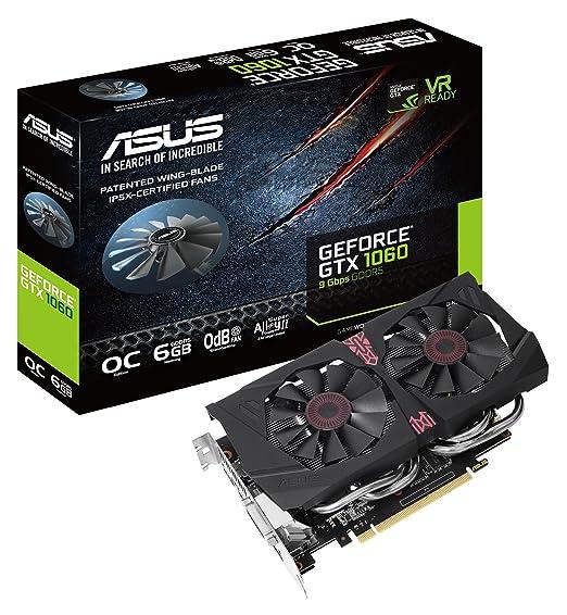 ASUS GTX1060-O6G-9GBPS GeForce GTX 1060 6GB - Tarjeta ...