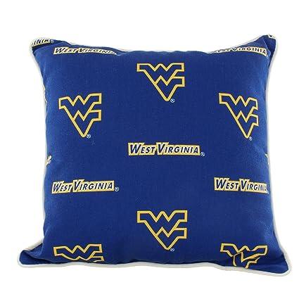 Amazon College Covers WVAODP West Virginia Mountaineers Outdoor Impressive College Decorative Pillows