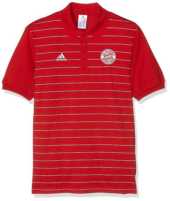 adidas Polo FC Bayern München PR - Polo para Hombre, Color Rojo ...
