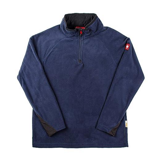 Engelbert Strauss Men Fleece Pullover Troyer dryplexx Micro at Amazon Mens Clothing store: