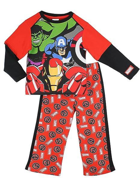 Marvel los VENGADORES Heroes pijamay | Jóvenes de Hulk Ironman de Capitán América y Thor pijama