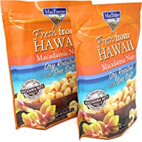 Macadamia Nuts   MacFarms Dry Roasted Macadamia Nuts, 2 Pack (24 Ounce, Each) - Premium Roasted Nuts with Sea Salt Fresh…