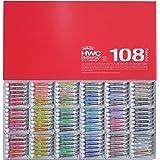 ホルベイン  透明水彩絵具 108全色セット W422 5ml(2号)