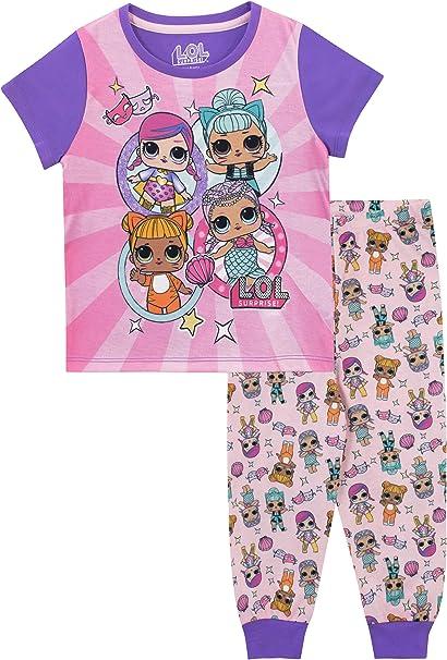 LOL Surprise Pijamas de Manga Corta para Ni/ñas Dolls