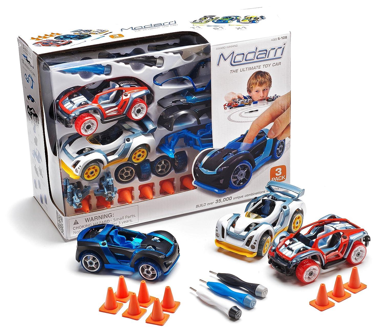 Amazon Modarri 3 Pack S1 X1 T1 Build Your Car Kit Toy Set