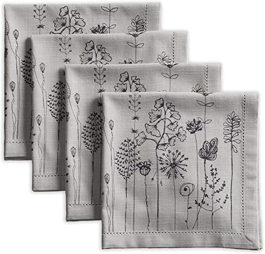 Weddings Cocktail Maison d Hermine Oak Leaves 100/% Cotton Soft and Comfortable Set of 4 Napkins Perfect for Family Dinners Thanksgiving//Christmas Kitchen 20 Inch by 20 Inch .
