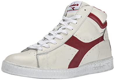 Diadora Game L High Waxed Pompes Plateforme Plate Mixte Adulte
