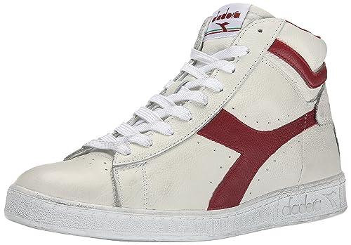 Unisex Adults Game L Waxed Sneaker Low Neck, Bianco, 8 UK Diadora
