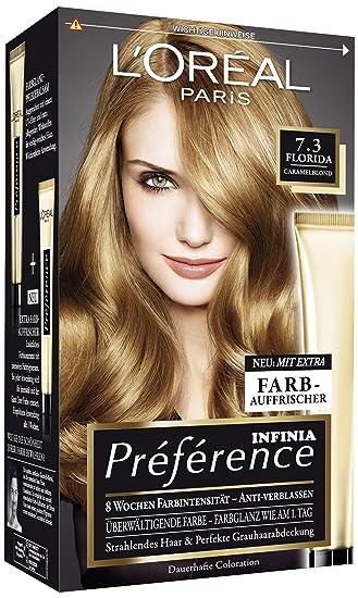 Haarfarbe caramel loreal