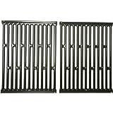 Music City Metals 58682 Set grilles de cuisson en acier émaillé (2 pièces) pour les grills à gaz de la marque Weber  - Gris