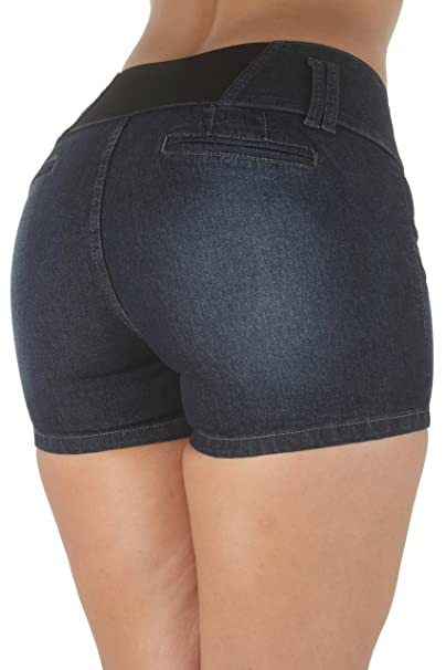 edd59074a7acc Fashion2Love Plus Size High Elastic Waist Design Butt lifting Denim ...