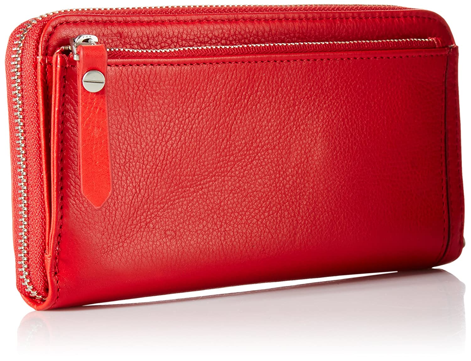 Amazoncom Fossil Dawson Zip Wallet Real Red Clothing Keely Tote Canvas