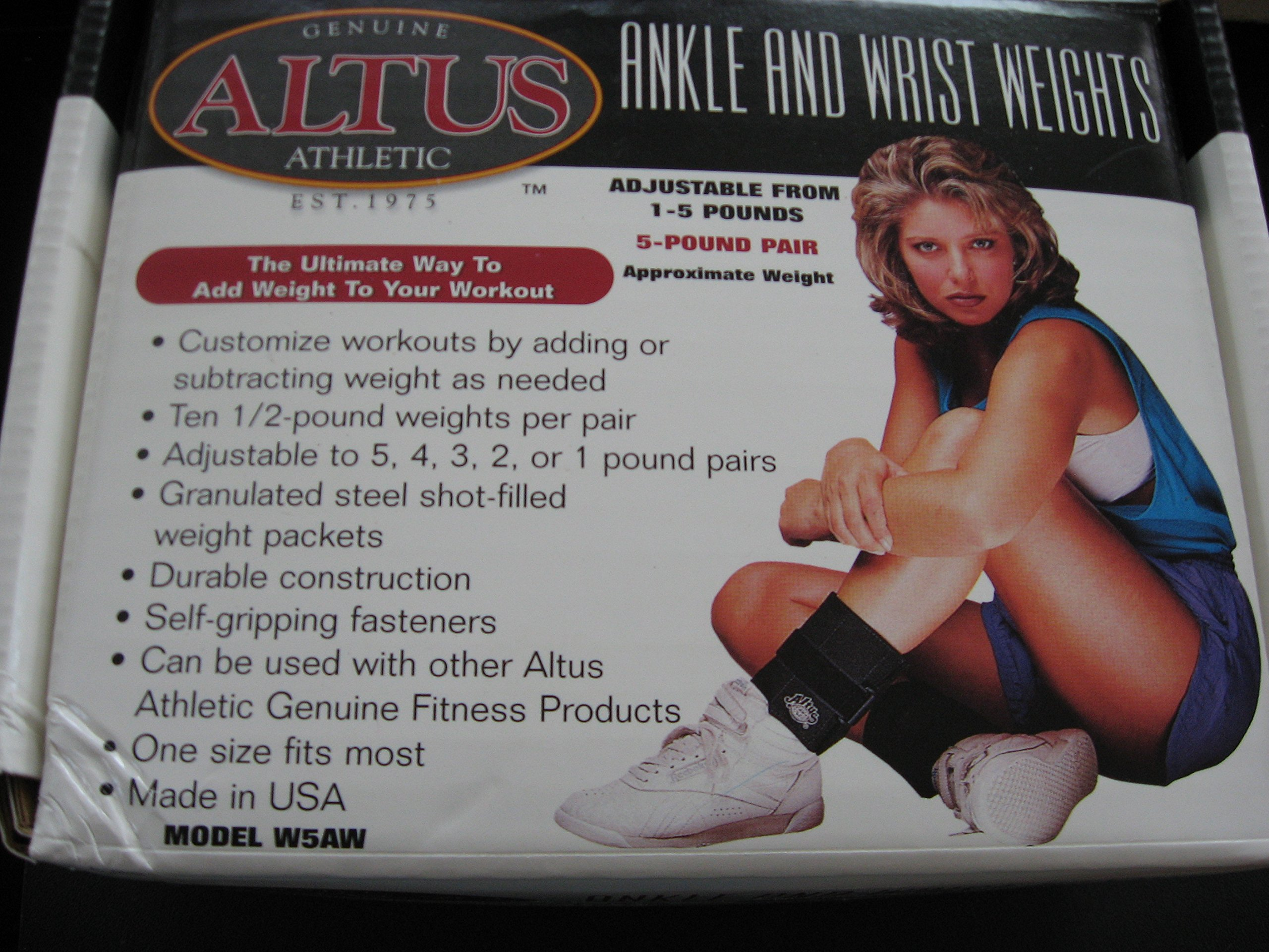 Ankle and Wrist Weights Adjustable 1-5 Pounds [Misc.]
