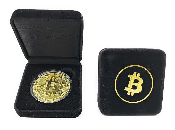 Amazon.com: Bitcoin - Moneda con caja de muestra: colección ...