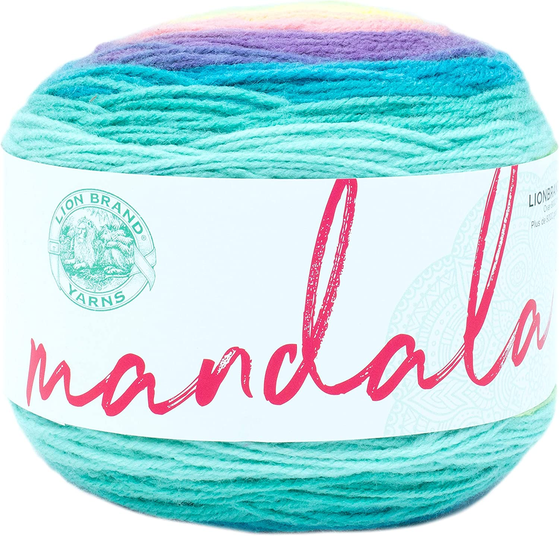 Mandala Yarn Thunderbird  100/% acrylic yarn