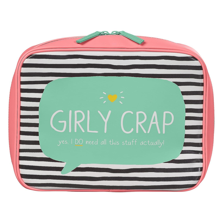 Happy Jackson 'Girly Crap' Wash Bag Wild and Wolf HAP527