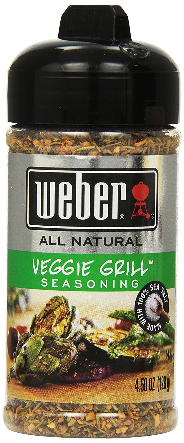 Weber Grill Seasoning Veggie Grill, 4.50-ounces (Pack of4)