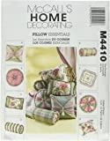 McCall's Patterns M4410 Pillow Essentials, All Sizes