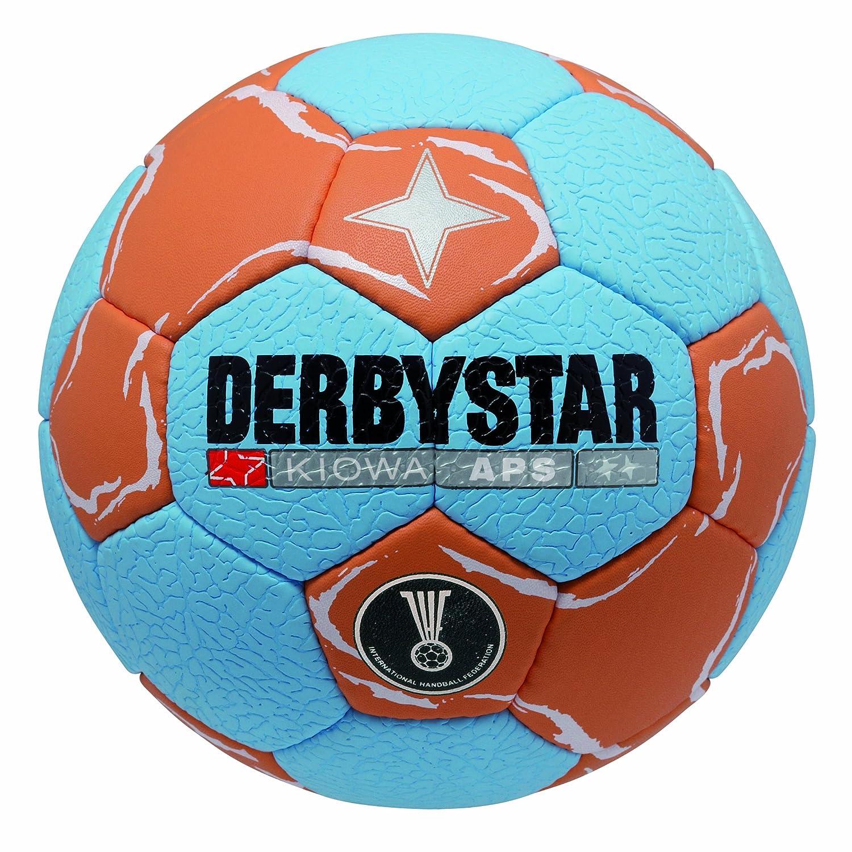 Derbystar Kiowa APS - Balón de Balonmano, Color Azul, Naranja y ...