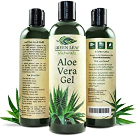 Green Leaf Naturals Aloe Vera Gel for Skin