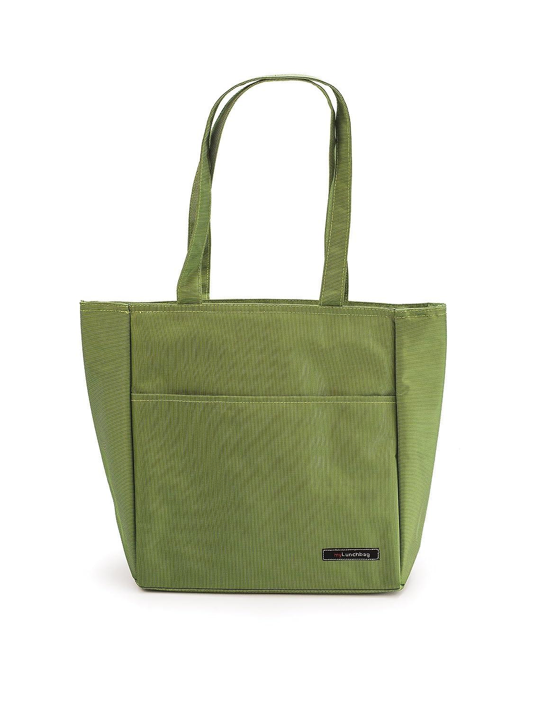 26x15x30 cm IRIS Shopper Bolsa Porta Alimentos Negro Tela