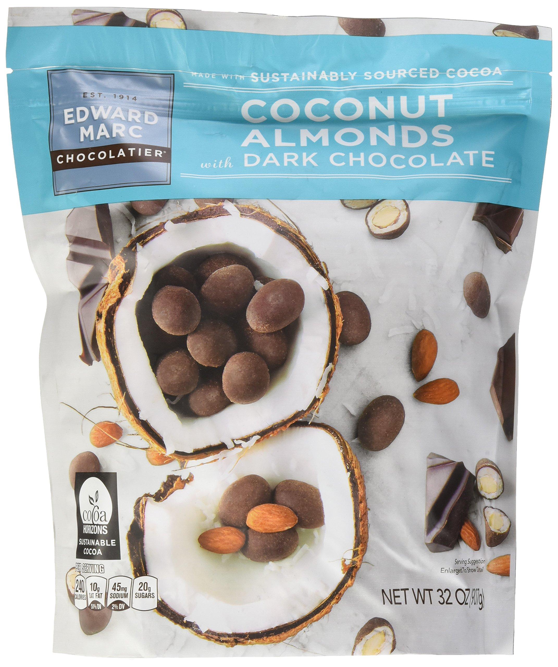 Dark Chocolate Coconut Almonds, 32 Ounce
