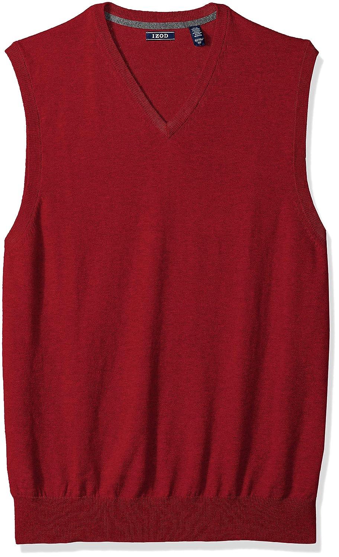 IZOD Men's Big and Tall Fine Gauge Solid Sweater Vest 45X2741