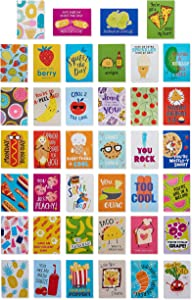 American Greetings Lunch Box Notes for Kids, Food is Fun (40-Count),6437640