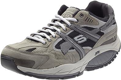 Skechers Shape Ups Kinetix Men's Tone up Sneaker Shoes, Charcoal/Black.  10.5 Wide