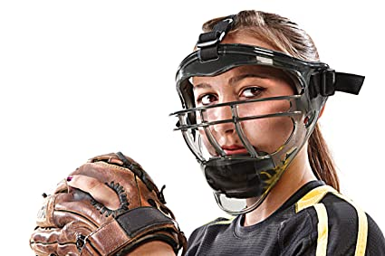 be21bae4 SKLZ Field Shield. Full-Face Protection Mask for Softball (Youth/Adult Sizes