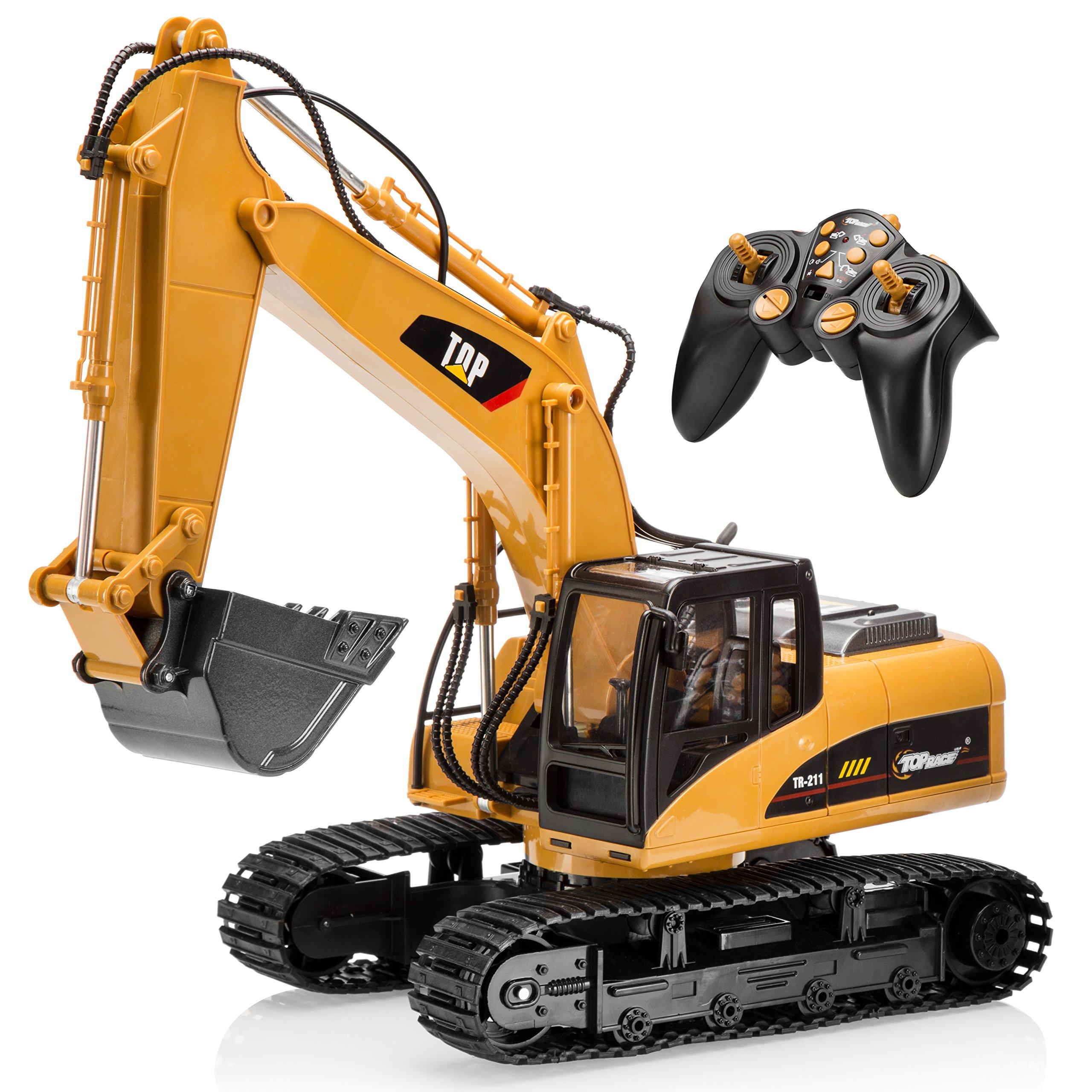 Remote Control Excavator Construction Toy Rc Caterpillar