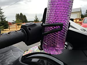 Can Am Spyder RT ST F3 2010, 2011, 2012, 2013, 2014, 2015, 2016, 2017, 2018, 2019, 2020 Handlebar Drink Beverage Holder Spyder2Go