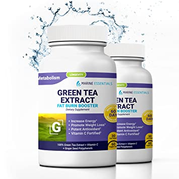Marine Essentials Green Tea Extract Green Tea Extract Natural Weight Loss Supplement With