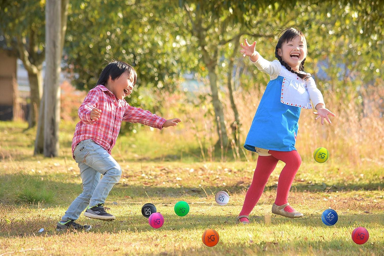 Circunferencia 9 Pulgadas Juego de 32 Actividad Parental pr/áctica de Entrenamiento de Espuma Suave Juguete de Regalo para ni/ños di/ámetro Macro Gigante 2,8 Pulgadas // 7 cm Colores Surtidos