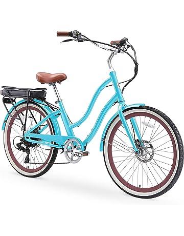 28de0b5e4 sixthreezero EVRYjourney Women s Step-Through Hybrid Cruiser Bicycle (24-Inch  and 26-