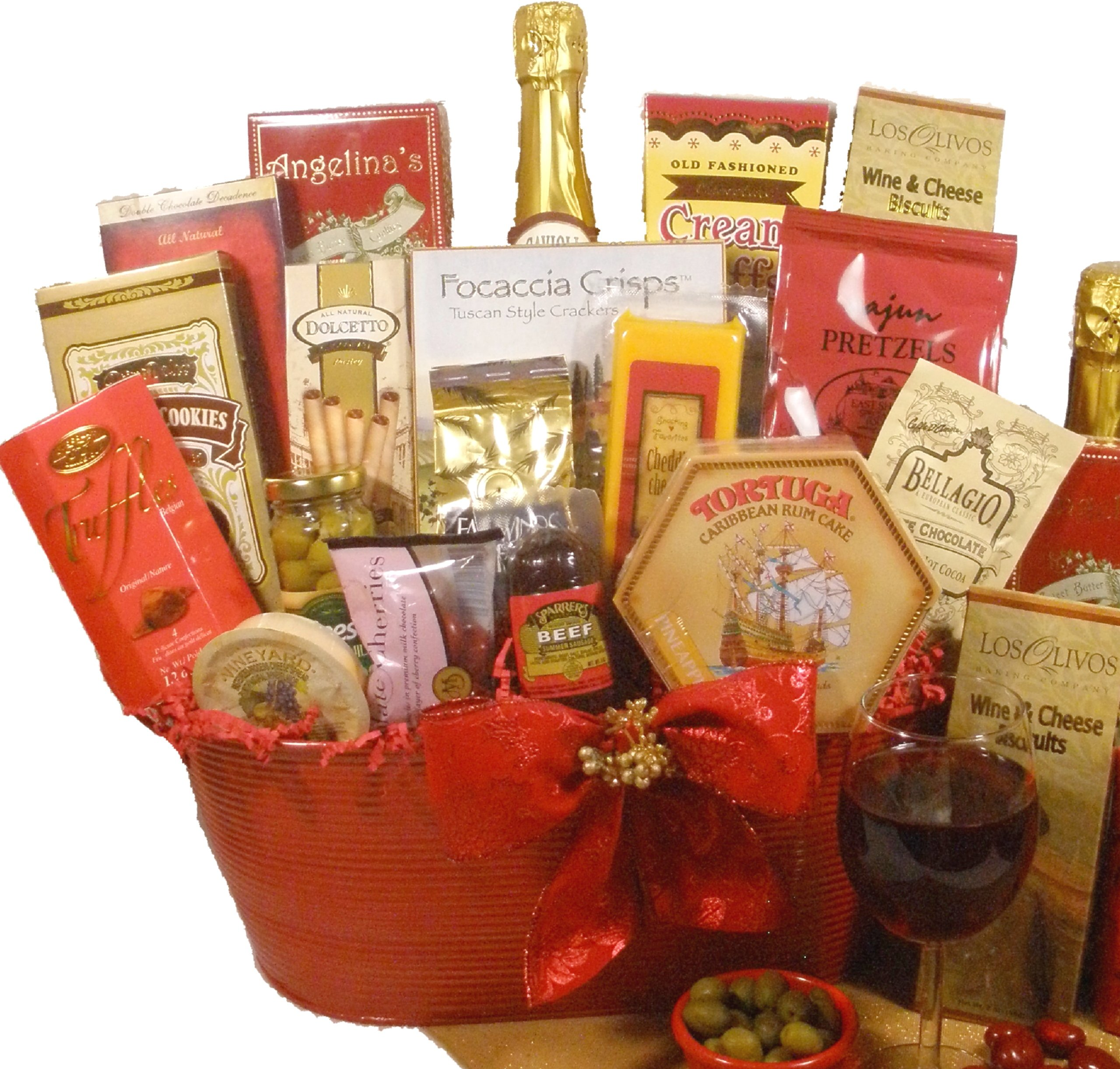 Delight Expressions Christmas Cheer Holiday Christmas Gourmet Food Gift Basket by Delight Expressions