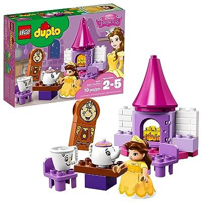 LEGO DUPLO Disney Belle's Tea Party 10877 Building Blocks (19 Pieces): Toys & Games