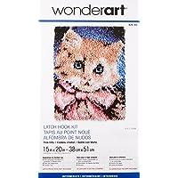 Patons Wonderart - Juego de Ganchos para Cerrojo, Prize Kitty 15 X 20, Prize Kitty 15 x 20, 1