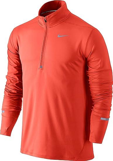 a0150864b Nike Men's Element Half Zip Running Top: Amazon.ca: Sports & Outdoors