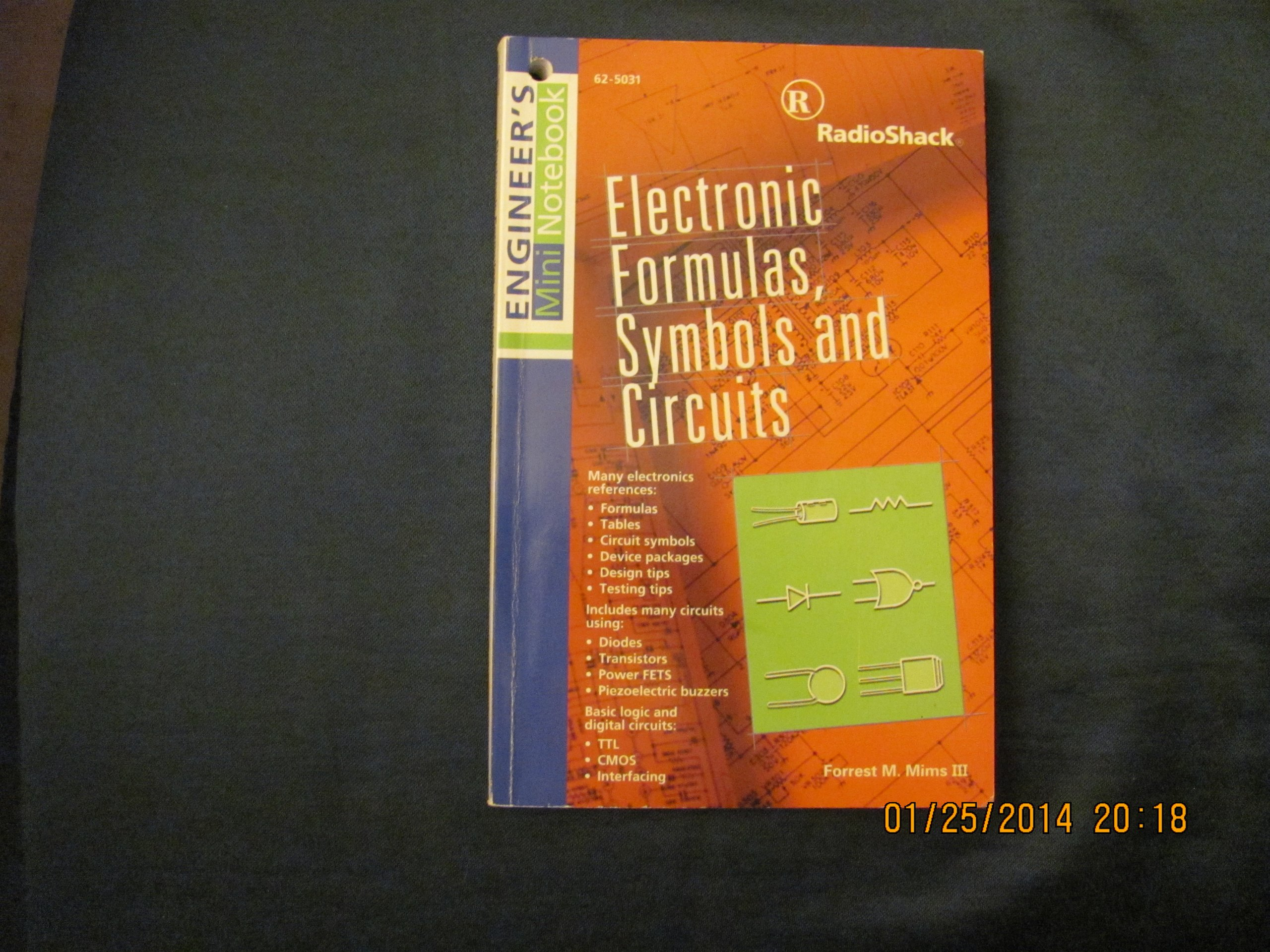Electronic Formulas Symbols And Circuits Forrest M Mims Circuit Commonly Used 0040293637712 Books