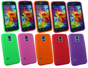 Emartbuy® Samsung Galaxy S5 Mini SM-G800 Silicona Funda ...