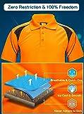 ZITY Quick Dry T-Shirt,Men's Polo Shirt Short