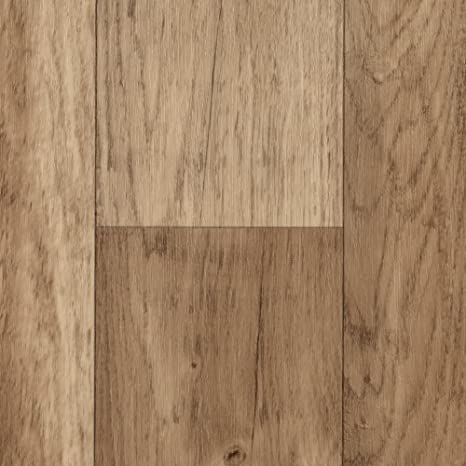 400 cm breit BODENMEISTER BM70568 Vinylboden PVC Bodenbelag Meterware 200 Holzoptik Diele Eiche hell 300