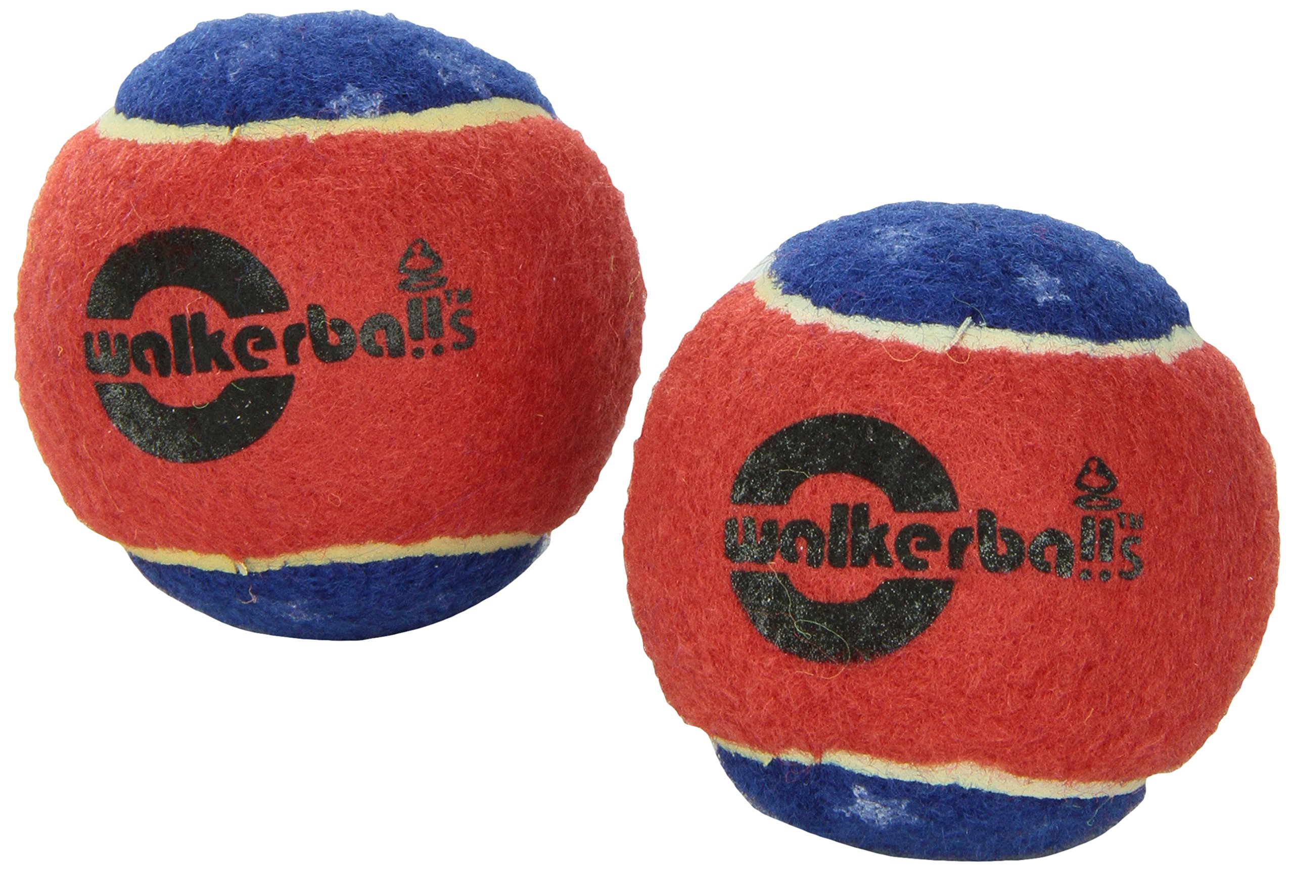 Walkerballs Walker Tennis Ball Glides, Pair, Patriotic