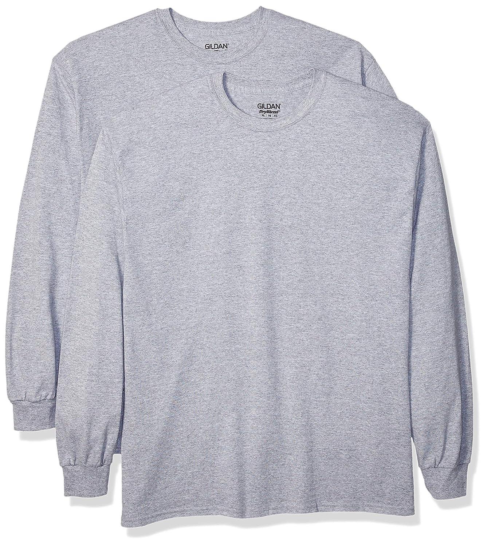 2-Pack Shirt GILDAN Mens DryBlend Adult T-Shirt