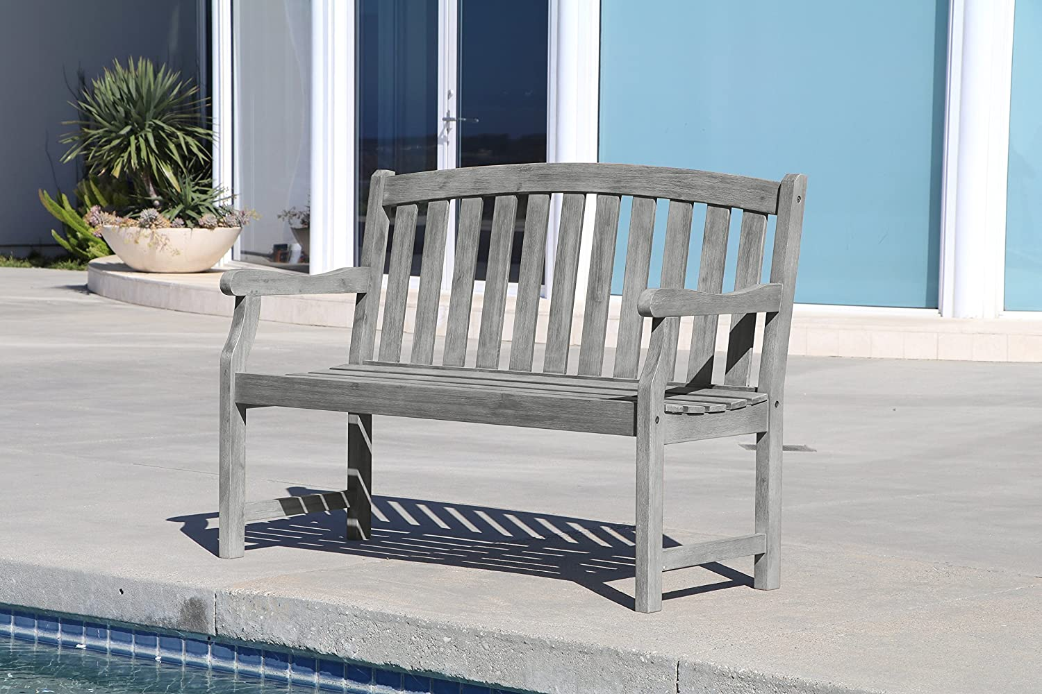Vifah V1622 Renaissance Outdoor Furniture, Grey-Washed