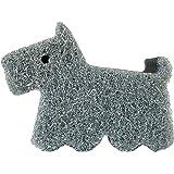 オーエ キッチン スポンジ グレー 犬 約縦7.8×横10.7×高さ4.0cm cf テリア シンクまわり キレイに洗える Sponge